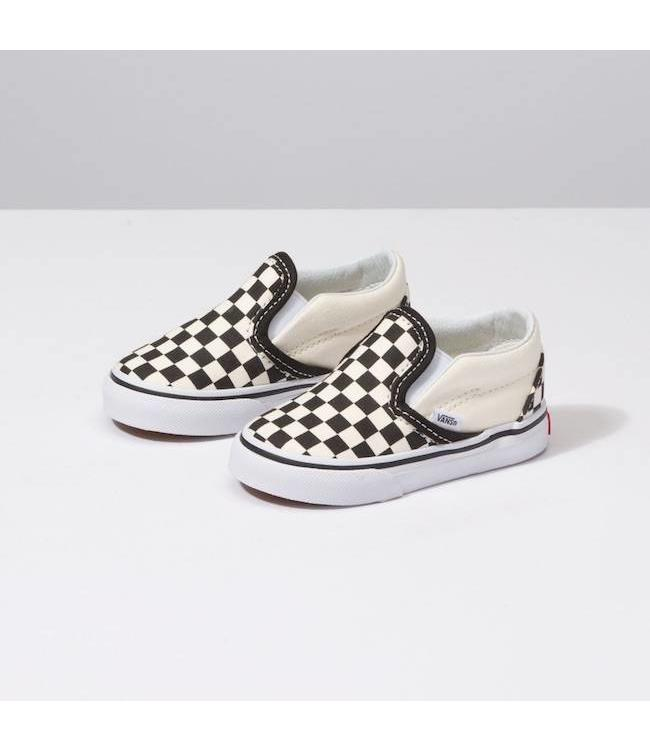 Vans Toddler Classic Slip On Checkerboard Shoes