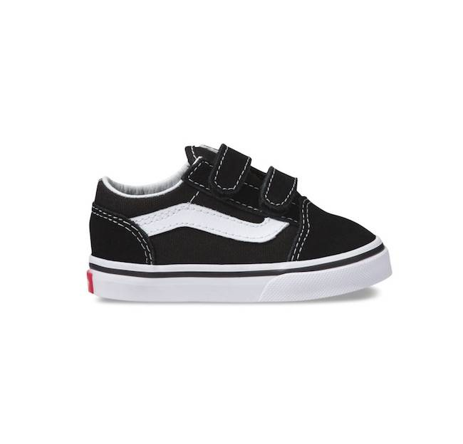 Vans Toddler Old Skool Black/White
