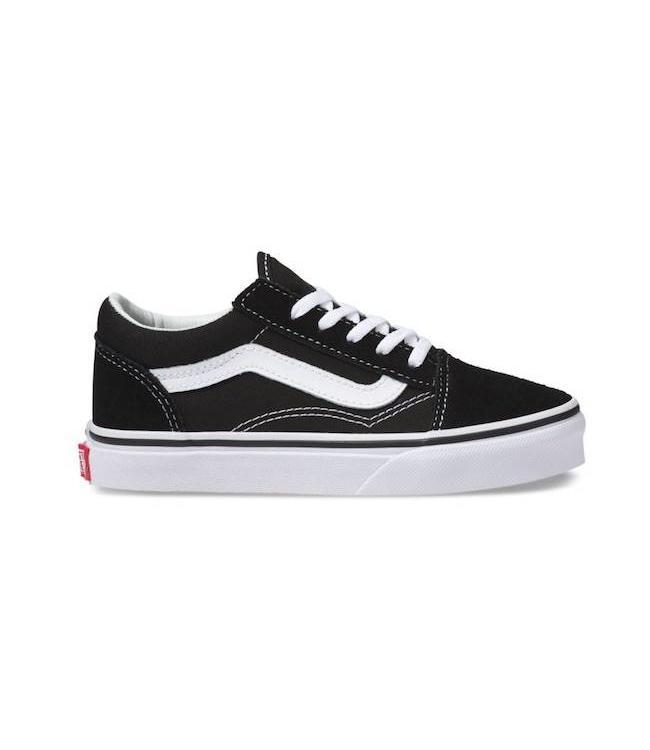 Vans Kids Old Skool Black/True White