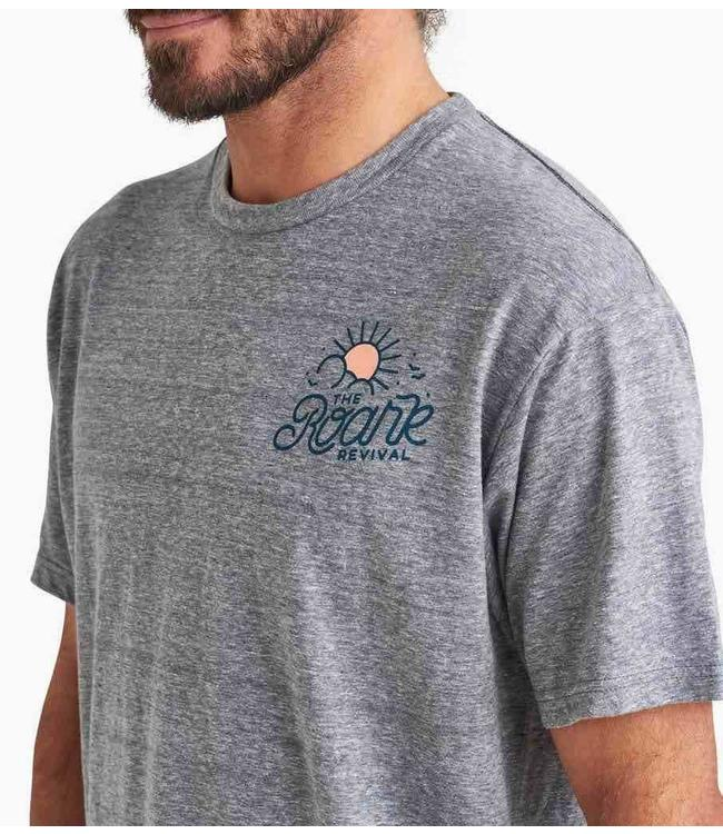 Roark Revival Kingston Mobile Soundsystem Heather Grey Tee