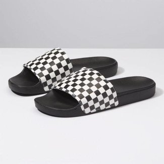 Vans Slide-On Checkerboard Sandals