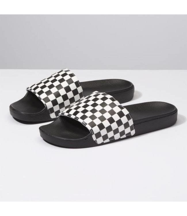 1adfd85fe5d Vans Slide-On Checkerboard Sandals