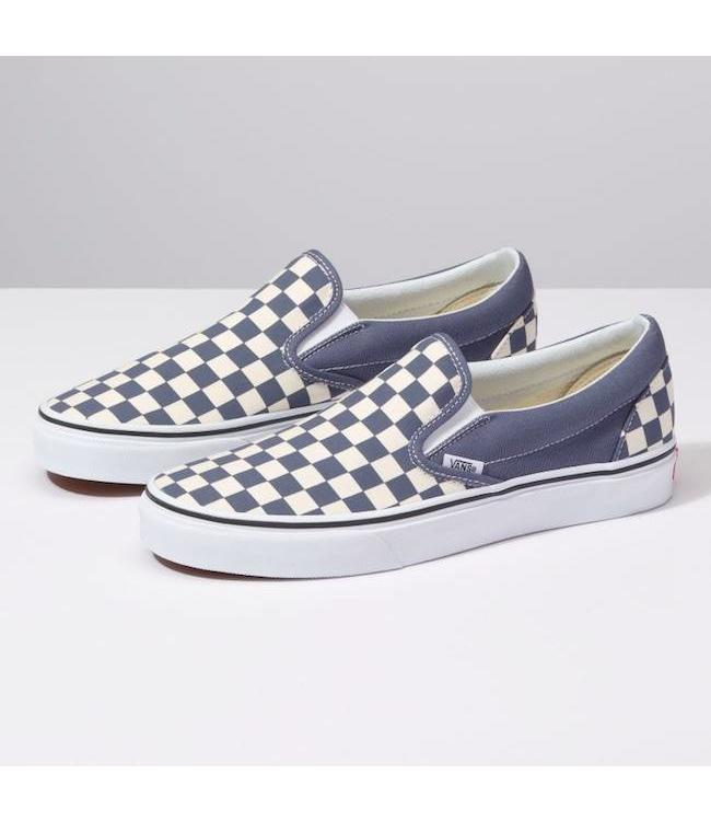 Vans Classic Checkerboard Slip On Shoes