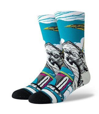 Stance Star Wars Warped Boba Crew Socks