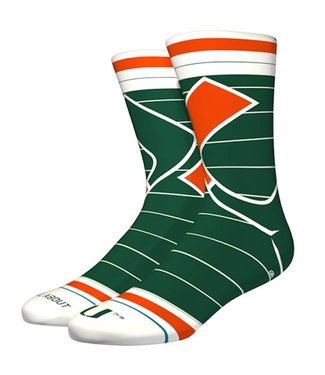 Stance U of Miami Socks