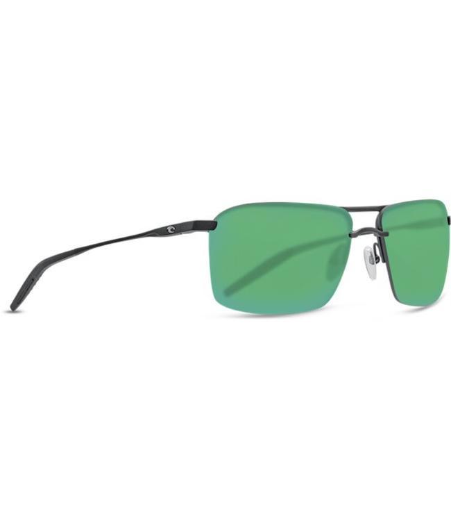 4b0fabf4026d Costa Del Mar Skimmer Matte Black 580P Green Lens Sunglasses - Drift ...