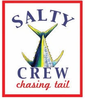Salty Crew White Chasing Tail Sticker