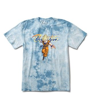 Primitive Skateboards DBZ Goku Super Saiyan Wash Shirt