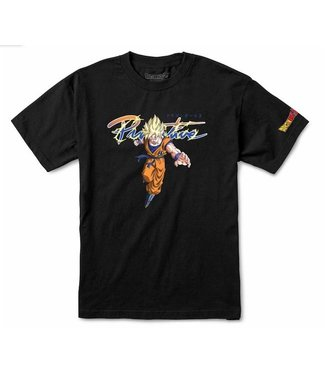 Primitive Skateboards DBZ Nuevo Goku Super Saiyan Shirt