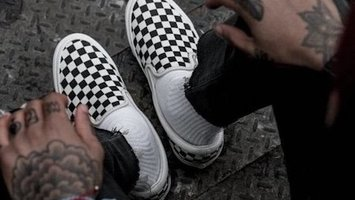 The Birth of an Icon - The Vans Checkerboard Slip On Shoe