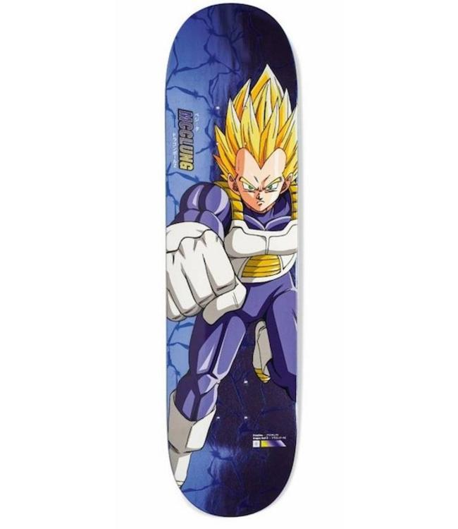 Primitive Skateboards DBZ McClung SS Vegeta Deck - 7.875""