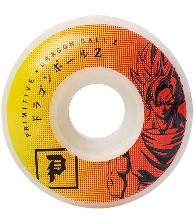 Primitive Skateboards Primitive DBZ Goku Team Wheels - 52mm