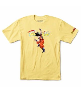 Primitive Skateboards DBZ Nuevo Goku Shirt