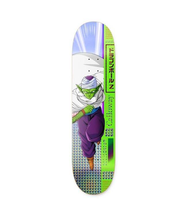 "Primitive Skateboards DBZ Devine Calloway Piccolo Deck - 8.5"""