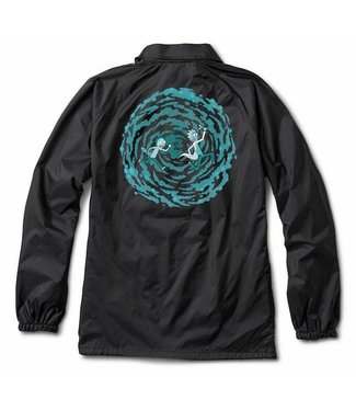 Primitive Skateboards Rick and Morty Portal Jacket