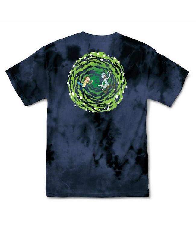 Primitive Skateboards Rick and Morty Nuevo Portal Shirt