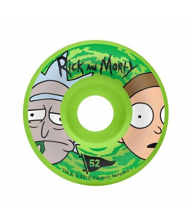 Primitive Skateboards Rick and Morty Swirl Skateboard Wheels