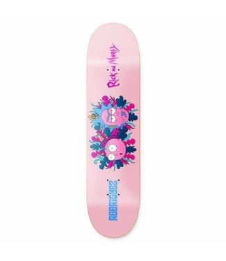 "Primitive Skateboards Rick and Morty  Rodriguez Deck - 8.5"""