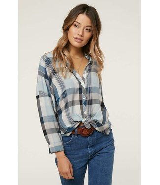 ONEILL Arlow Button Down Flannel Top