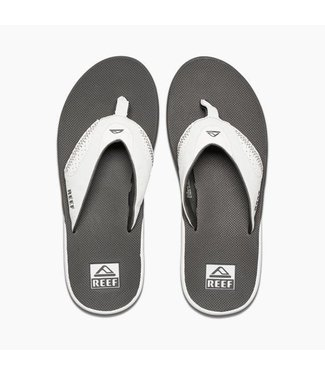 Reef Fanning Grey and White Sandals
