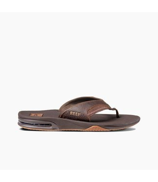 Reef Fanning Brown Leather Sandals
