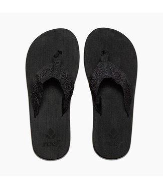 Reef Sandy All Black Sandals