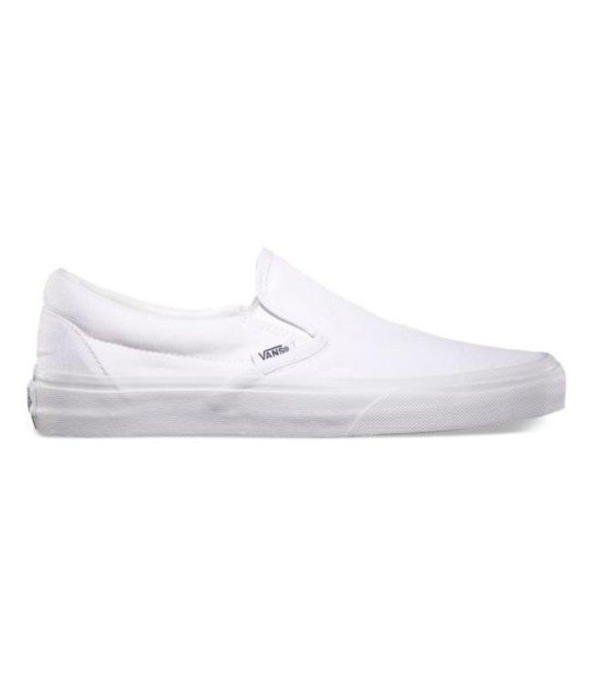 9a0164ee51bb Vans Classic Slip On True White Shoe - Drift House Surf Shop