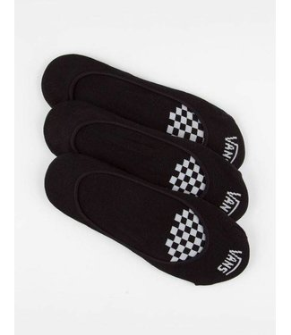 Vans Girly Ped No Show Socks 3 Pair Pack