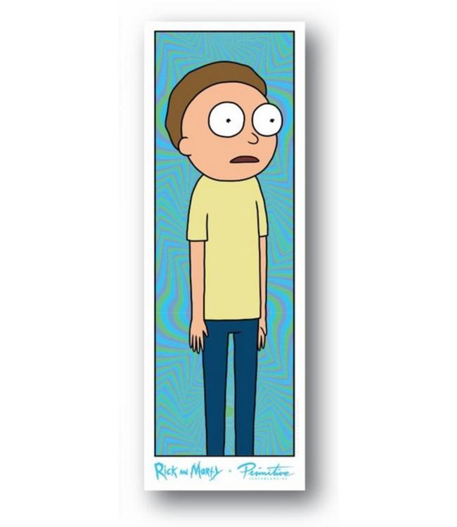 Primitive Skateboards Rick and Morty Morty Vortex Sticker