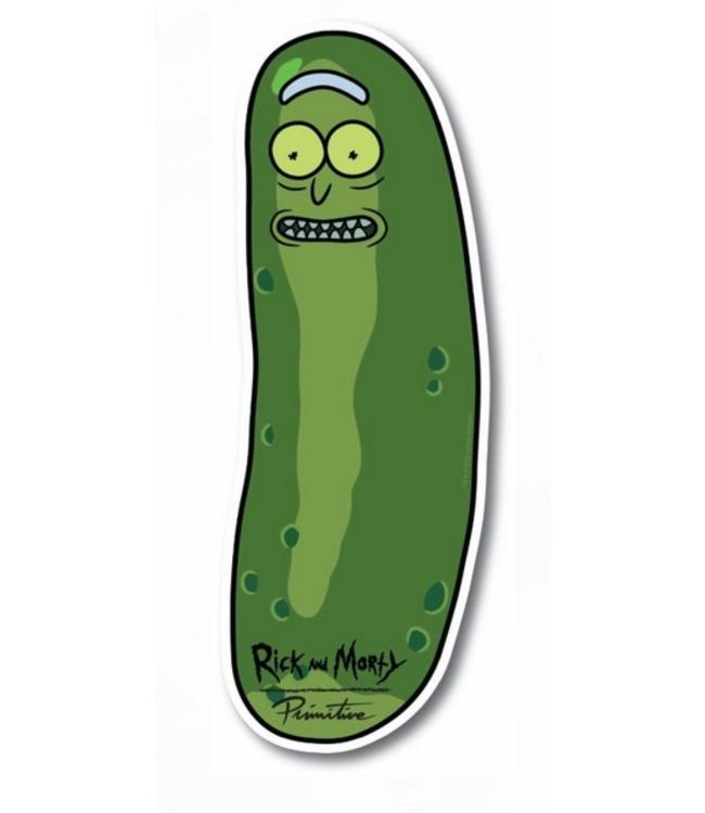 Primitive Skateboards Rick and Morty Pickle Rick Sticker