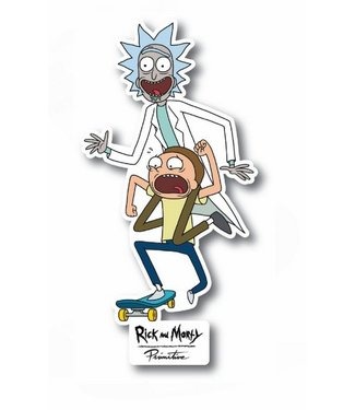 Primitive Skateboards Rick and Morty Skate Sticker