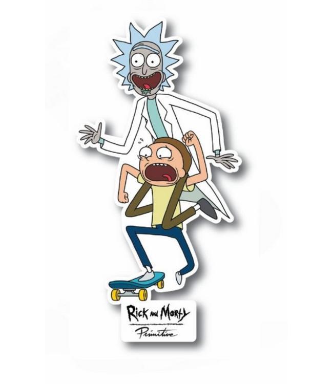 Primitive Skateboards Rick and Morty Skate Sticker