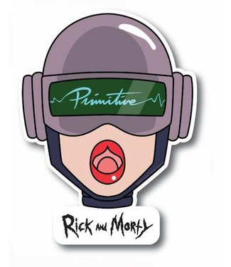 Primitive Skateboards Rick and Morty Gwendolyn Head Sticker