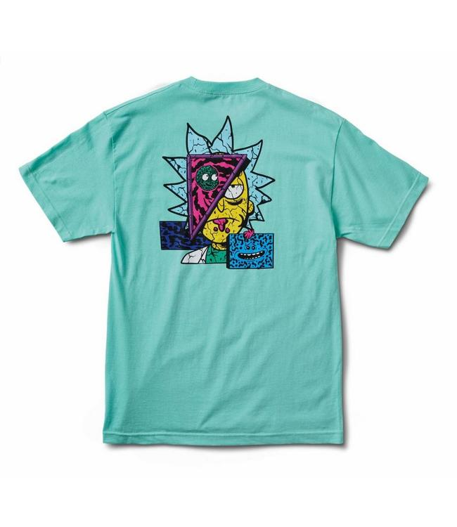 Primitive Skateboards Rick and Morty Deconstructed Rick  T Shirt
