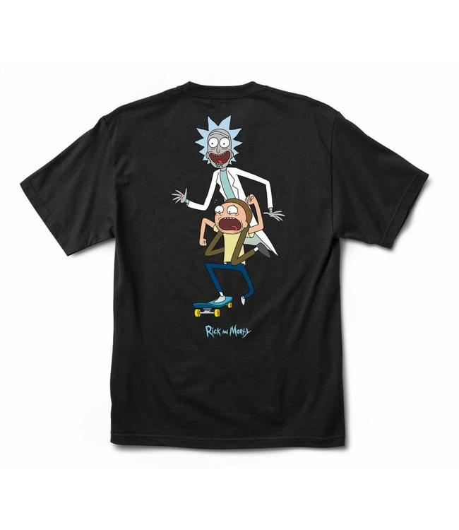 Primitive Skateboards Rick and Morty Classic P Skate T Shirt