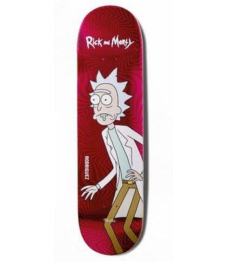 Primitive Skateboards Rick and Morty Rodriguez Rick Deck