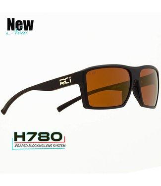 RCI Optics Pump House Matte Black Copper H780 Sunglasses