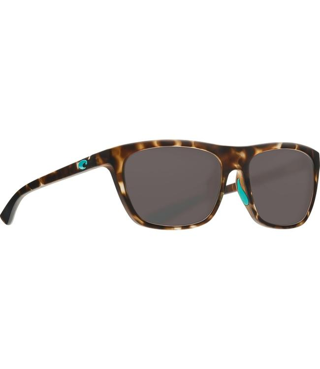 Costa Del Mar Cheeca Matte Shadow Tortoise 580P Sunglasses