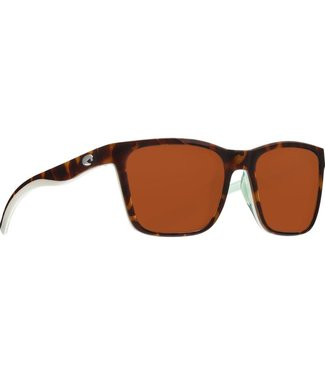 Costa Del Mar Panga Shiny Tortoise 580P Sunglasses