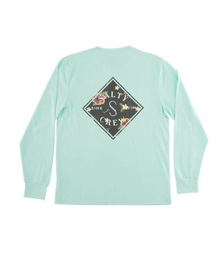 Salty Crew Island Time Long Sleeve Tech Tee