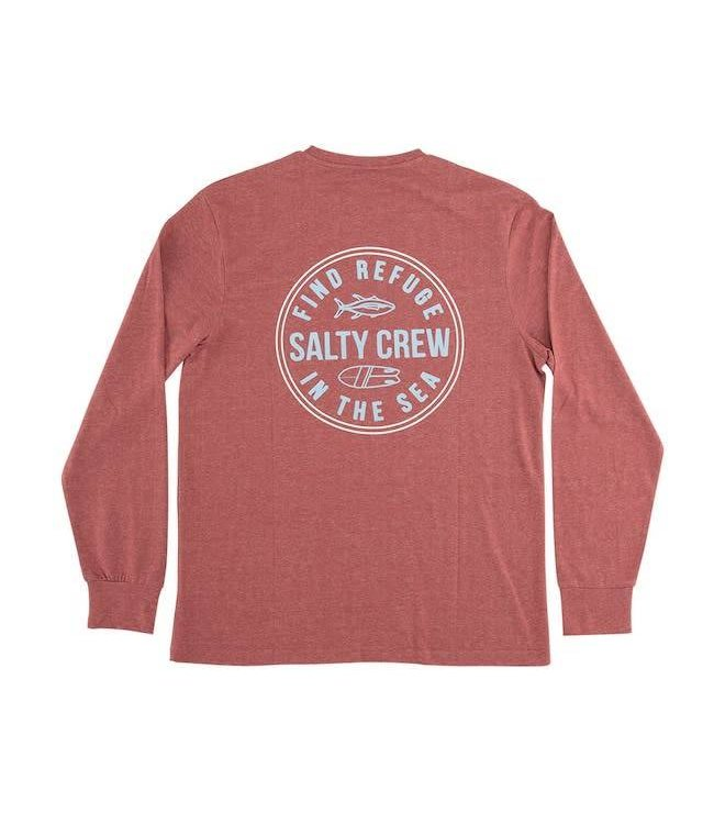 Salty Crew Twin Fin Long Sleeve Premium Tech Tee