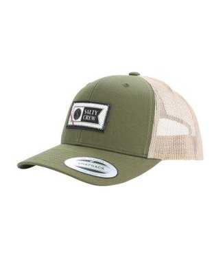 Salty Crew Topstitch Retro Trucker Hat