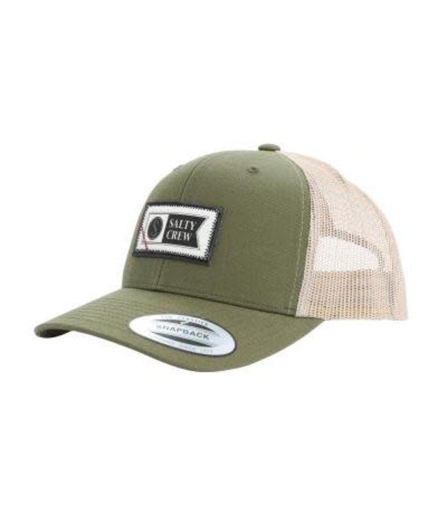 Salty Crew Topstitch Retro Trucker Hat