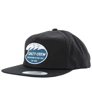 Salty Crew White Wash 5 Panel Hat