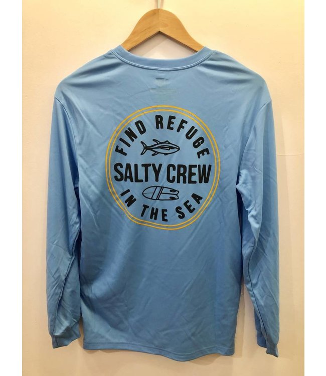 Salty Crew Twin Fin Long Sleeve Tech Tee