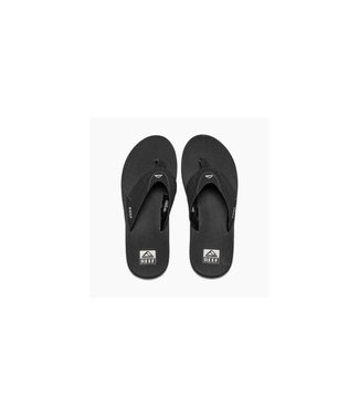 Reef Fanning Black and Silver Sandals
