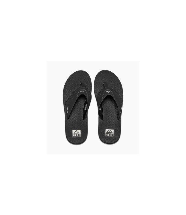 fd4df6e10e4 Reef Fanning Black Silver Sandals - Drift House Surf Shop