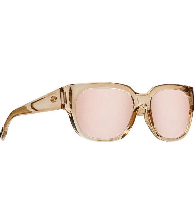 Costa Del Mar Waterwoman Shiny Crystal 580P Sunglasses