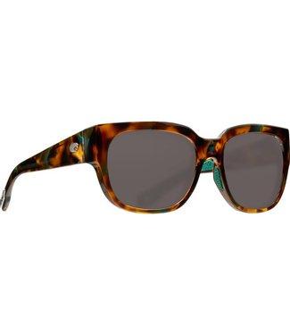 Costa Del Mar Waterwoman Shiny Palm Tortoise 580P Sunglasses
