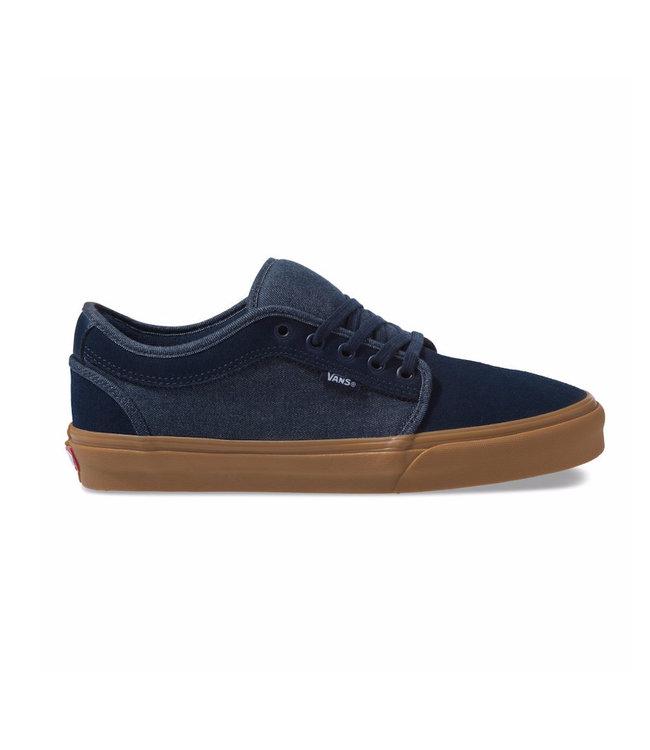 d7d3537e5b2c Vans Chukka Low Denim Dress Blue Shoes - Drift House Surf Shop